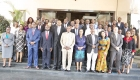 Delegates of the National Agriculture Investment Plan (NAIP) formulation pose for a group photo at the end of the exercise.