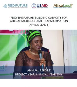 Download Africa Lead Annual Report 2016
