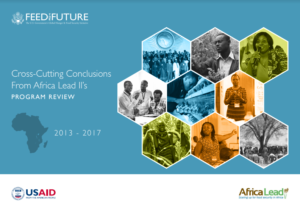 Africa Lead – Scaling up for food security in Africa